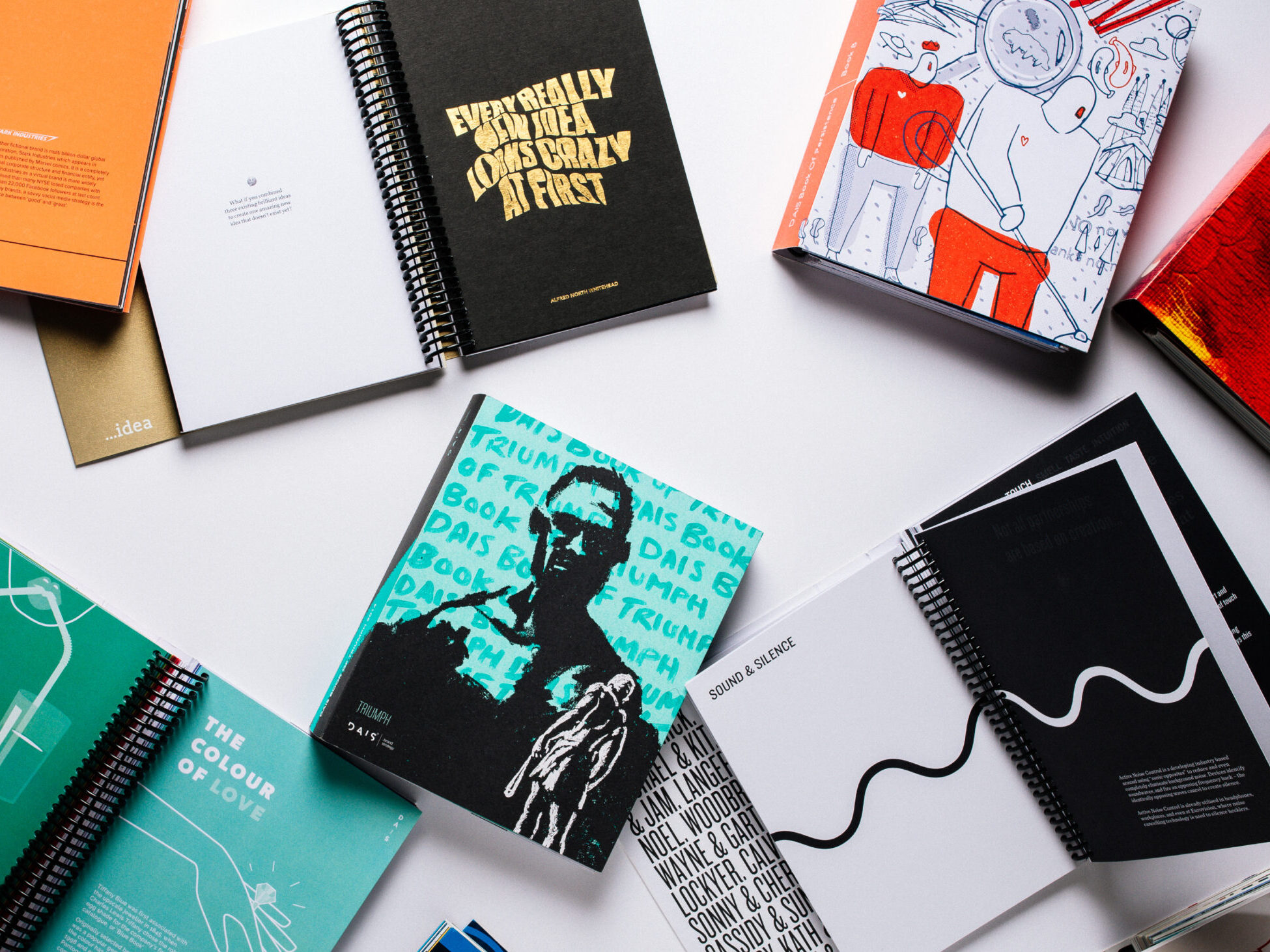 DAIS - Ten Year Project (2010 - 2019) Book Covers