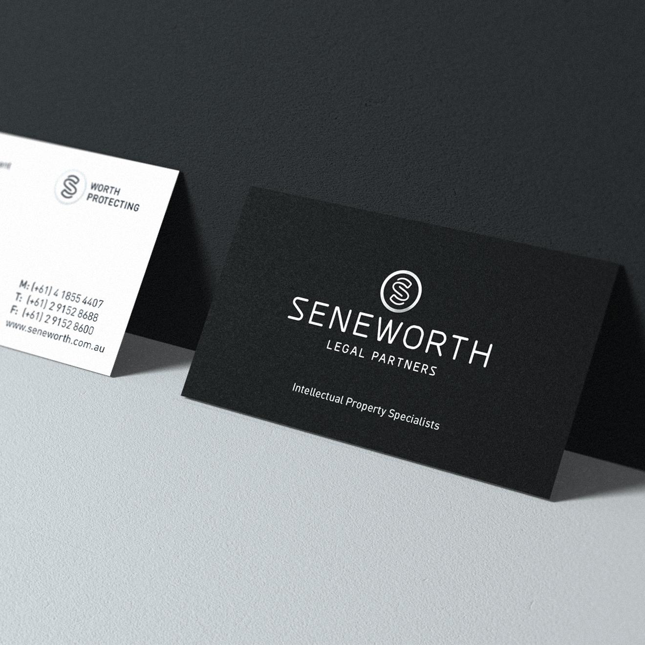 Seneworth - Business cards