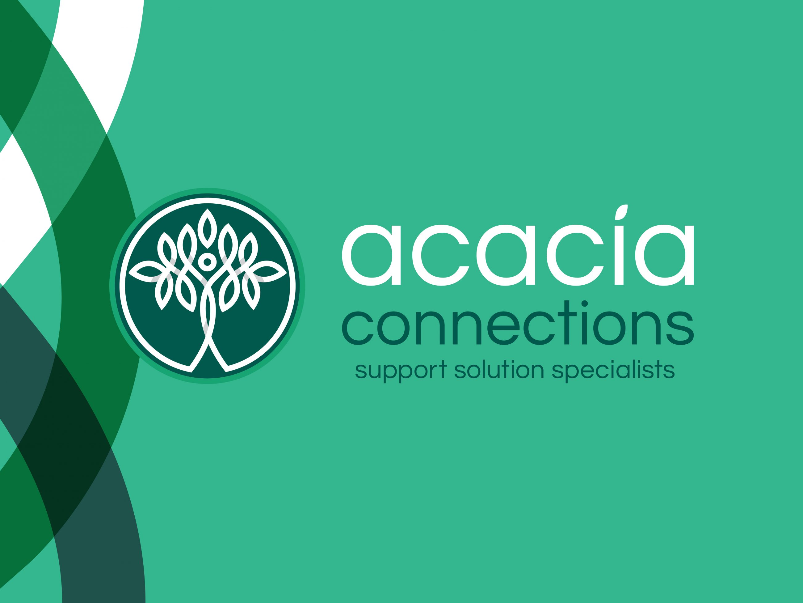 Acacia Connections new brand identity and structured brand architecture