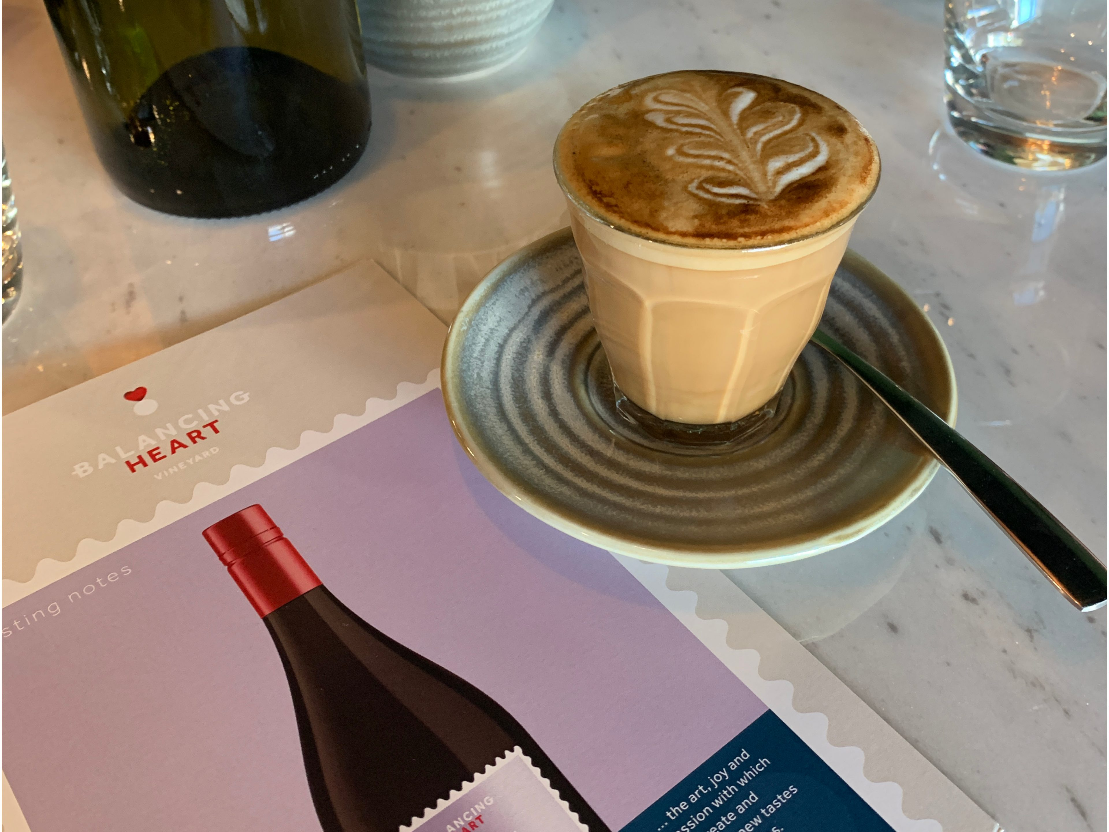 Image of coffee and Balancing Heart Flyer