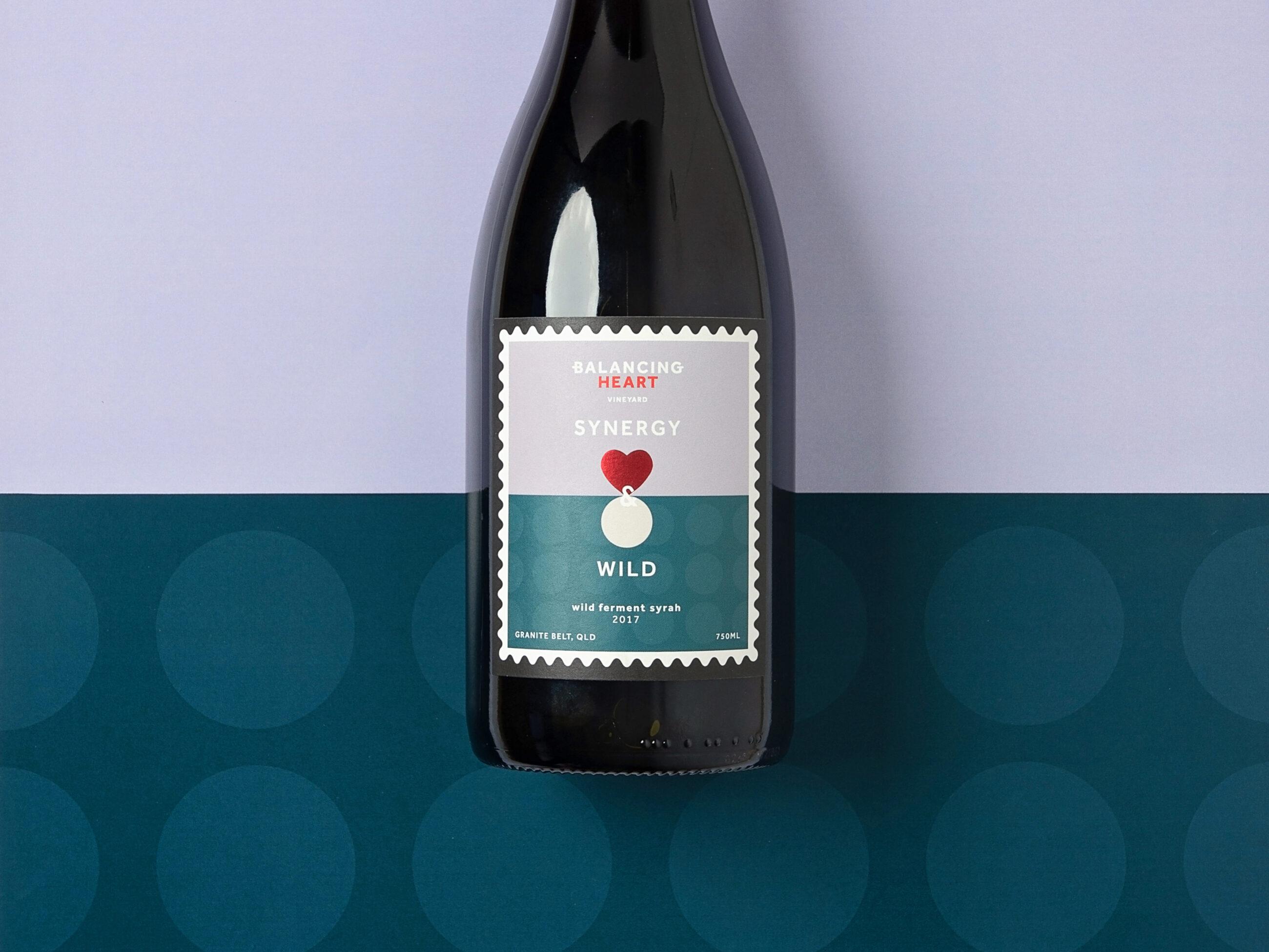 Bottle of Balancing Heart wine