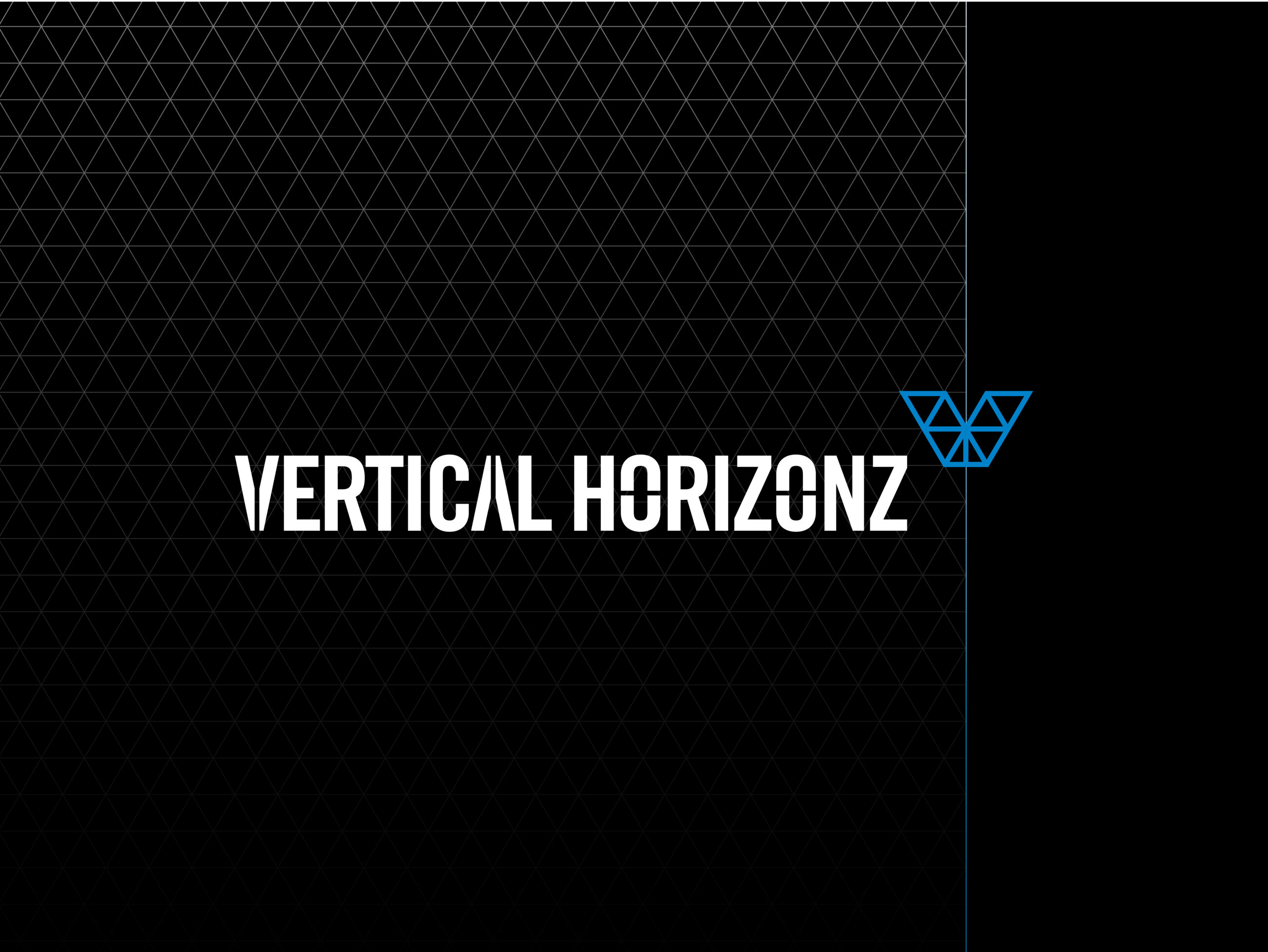 Vertical horizons logo for brand repositioning