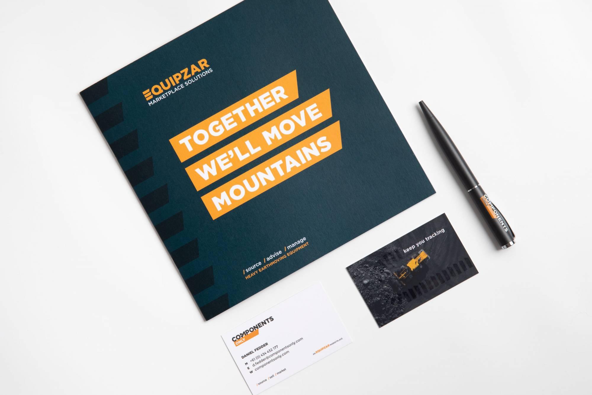 Equipzar - branding examples