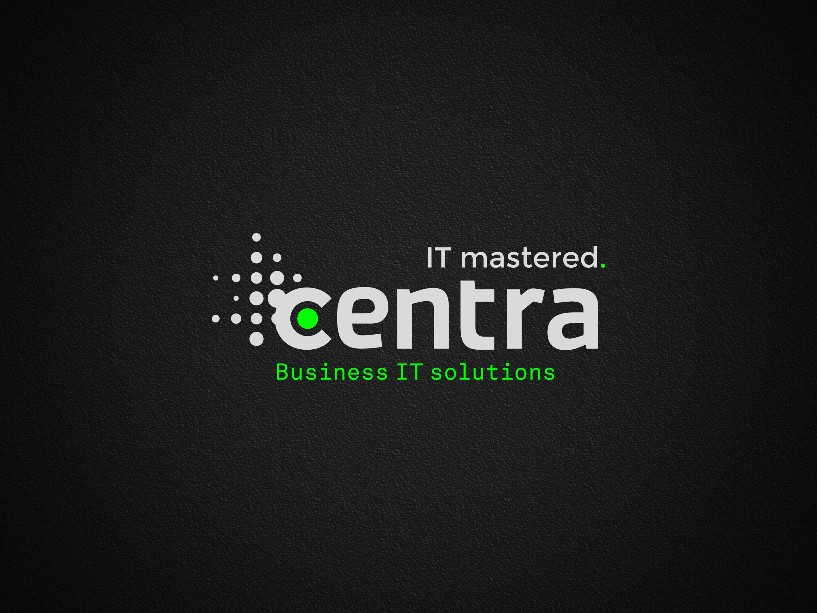 Centra IT Mastered - Business IT Solutions Web Banner