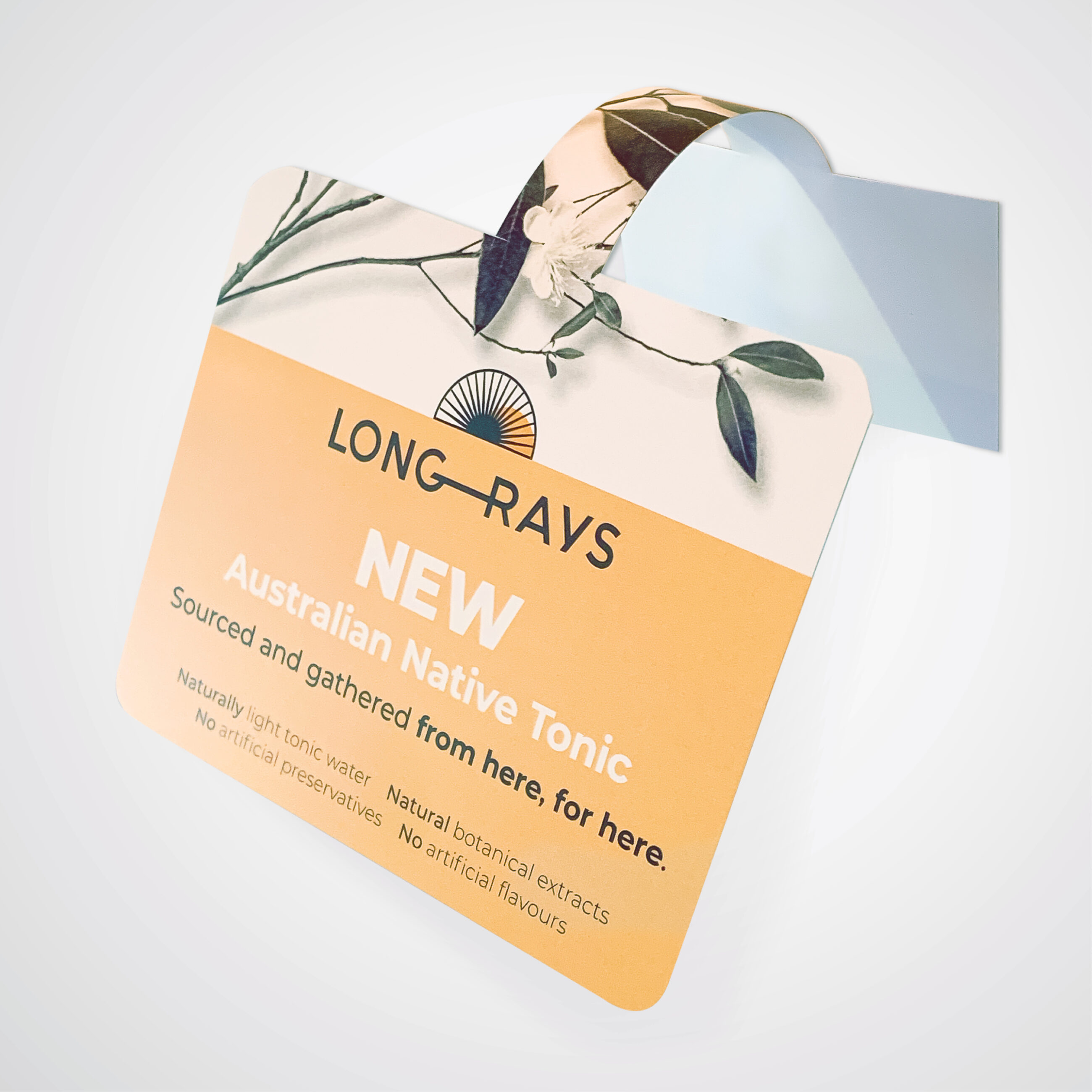 Long Rays Native Tonic advertisement