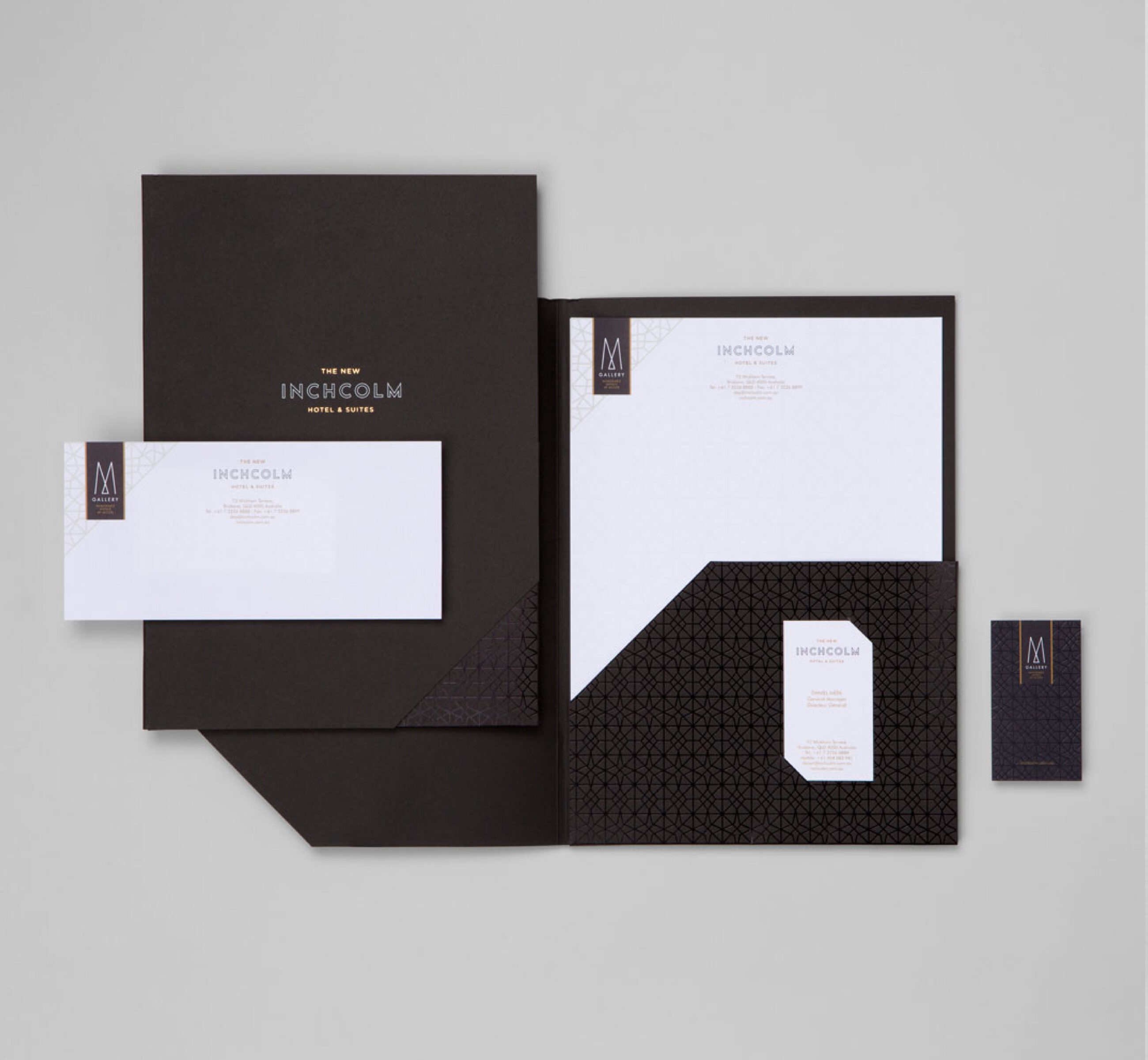 Inchcolm Hotel - Stationery branding example