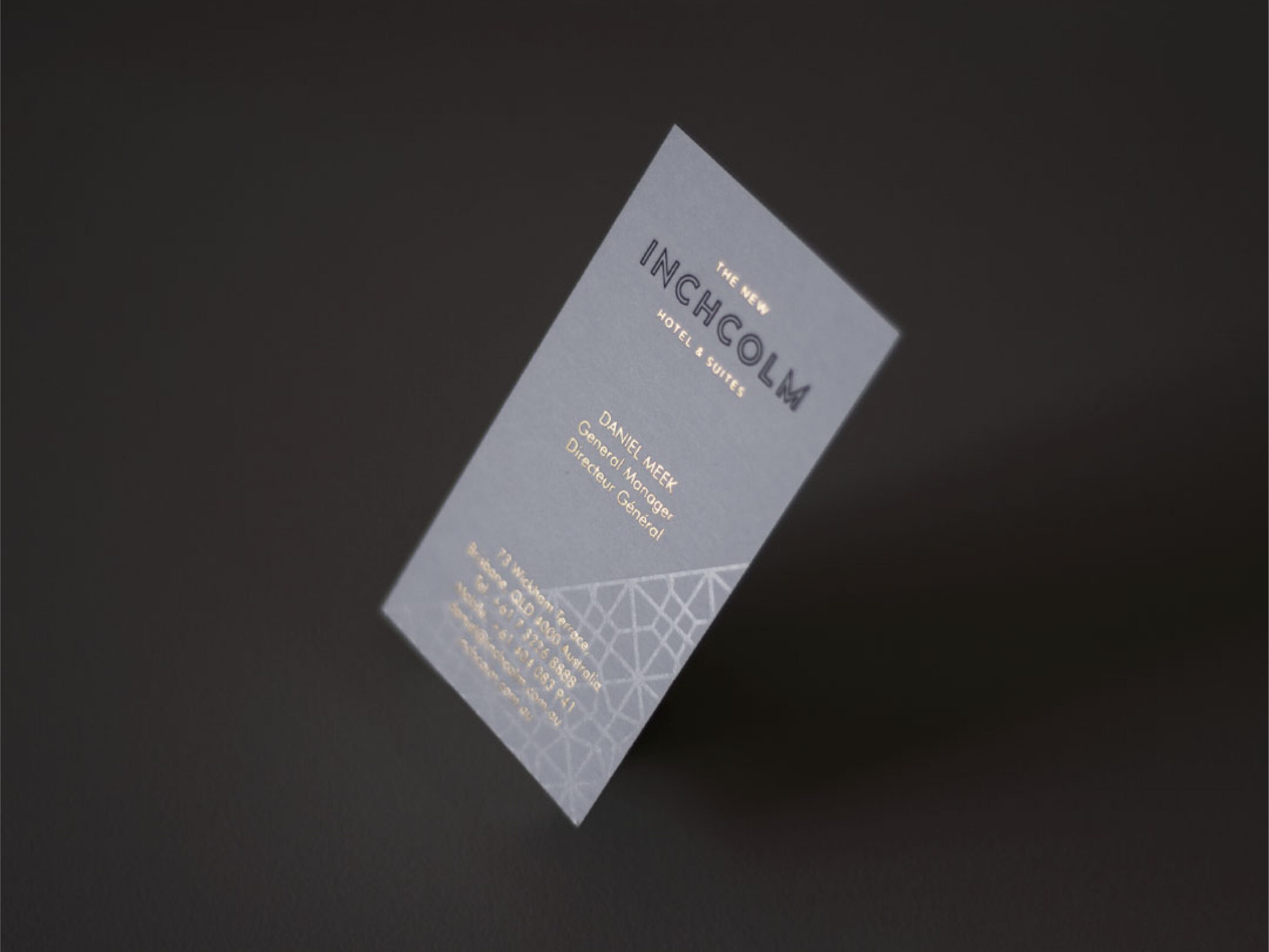 Inchcolm Hotel - Business card