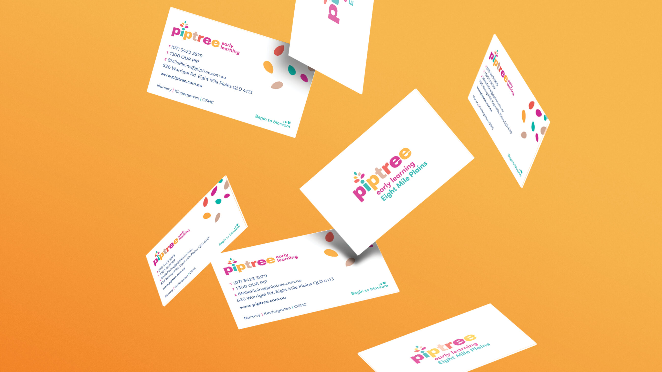 Piptree Early Learning - Business cards