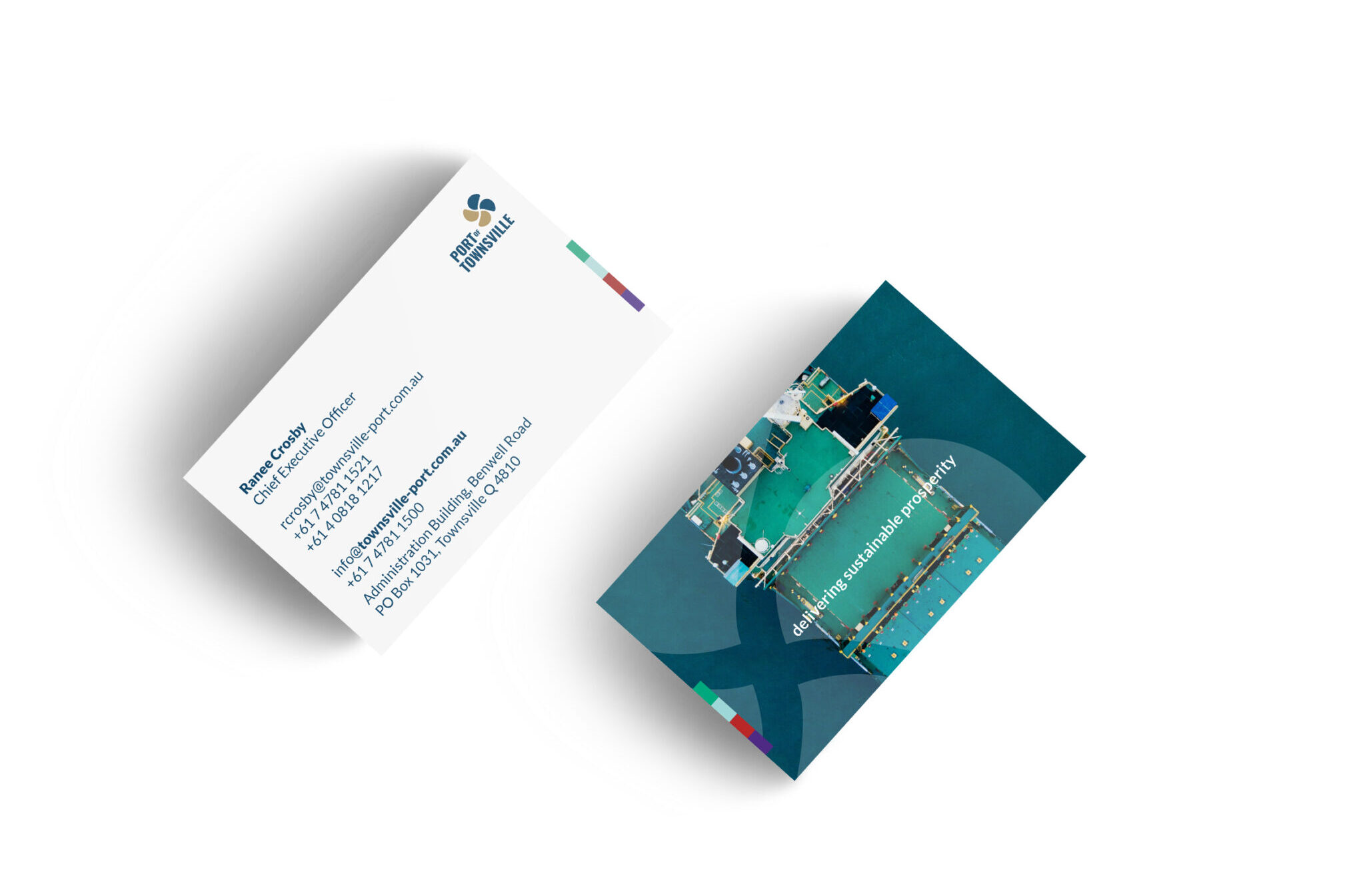 Port of Townsville - Business cards