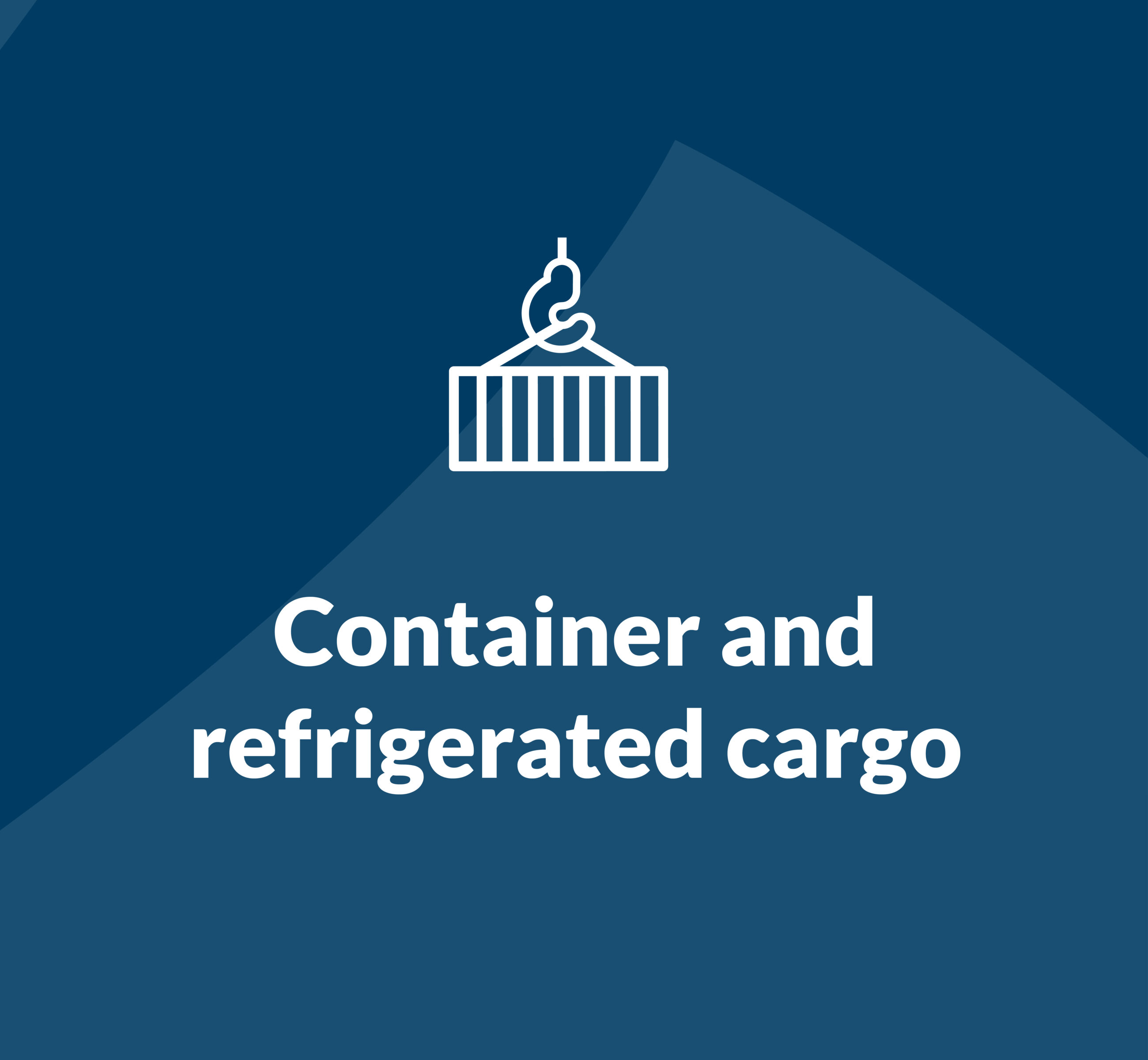 Container and refrigerated cargo