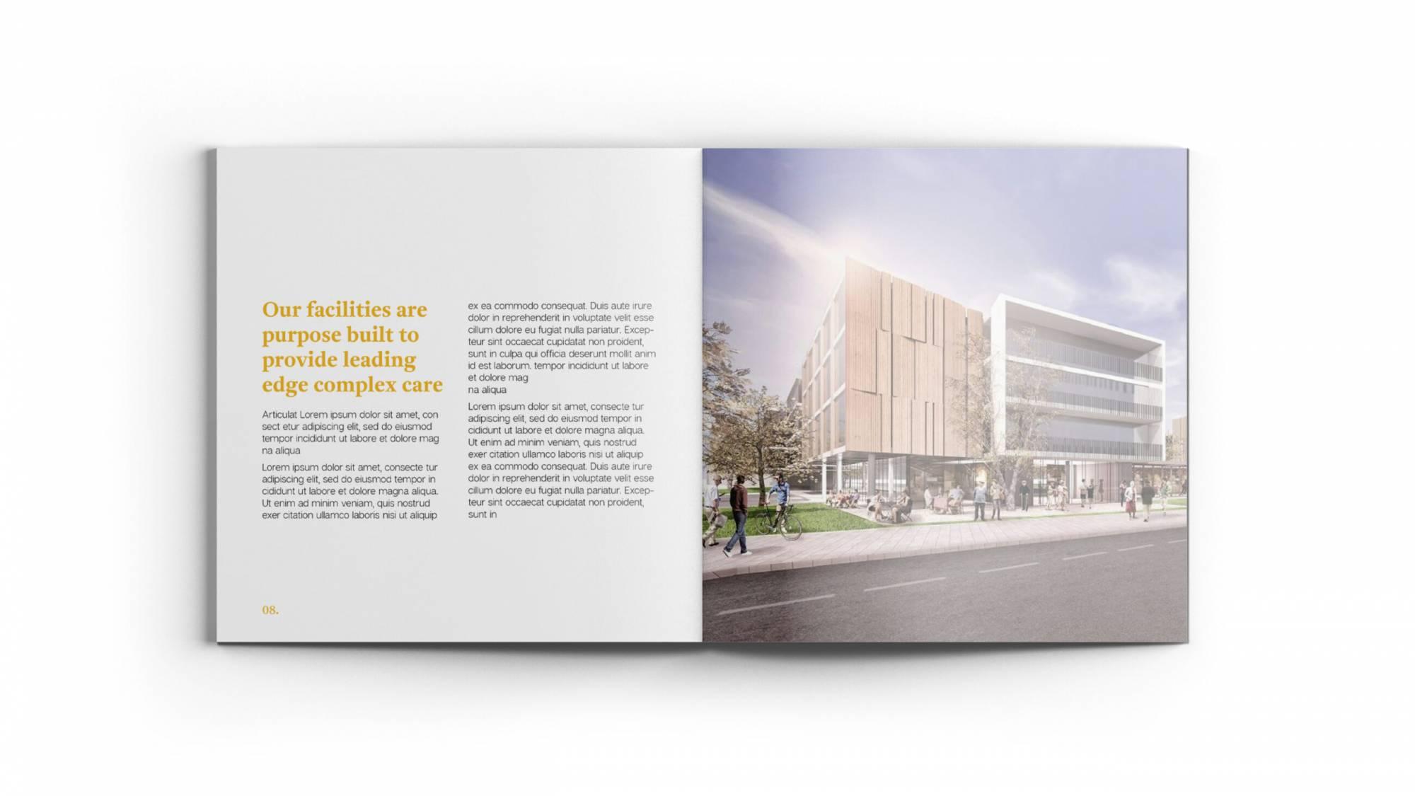Rivera Place - Brochure example
