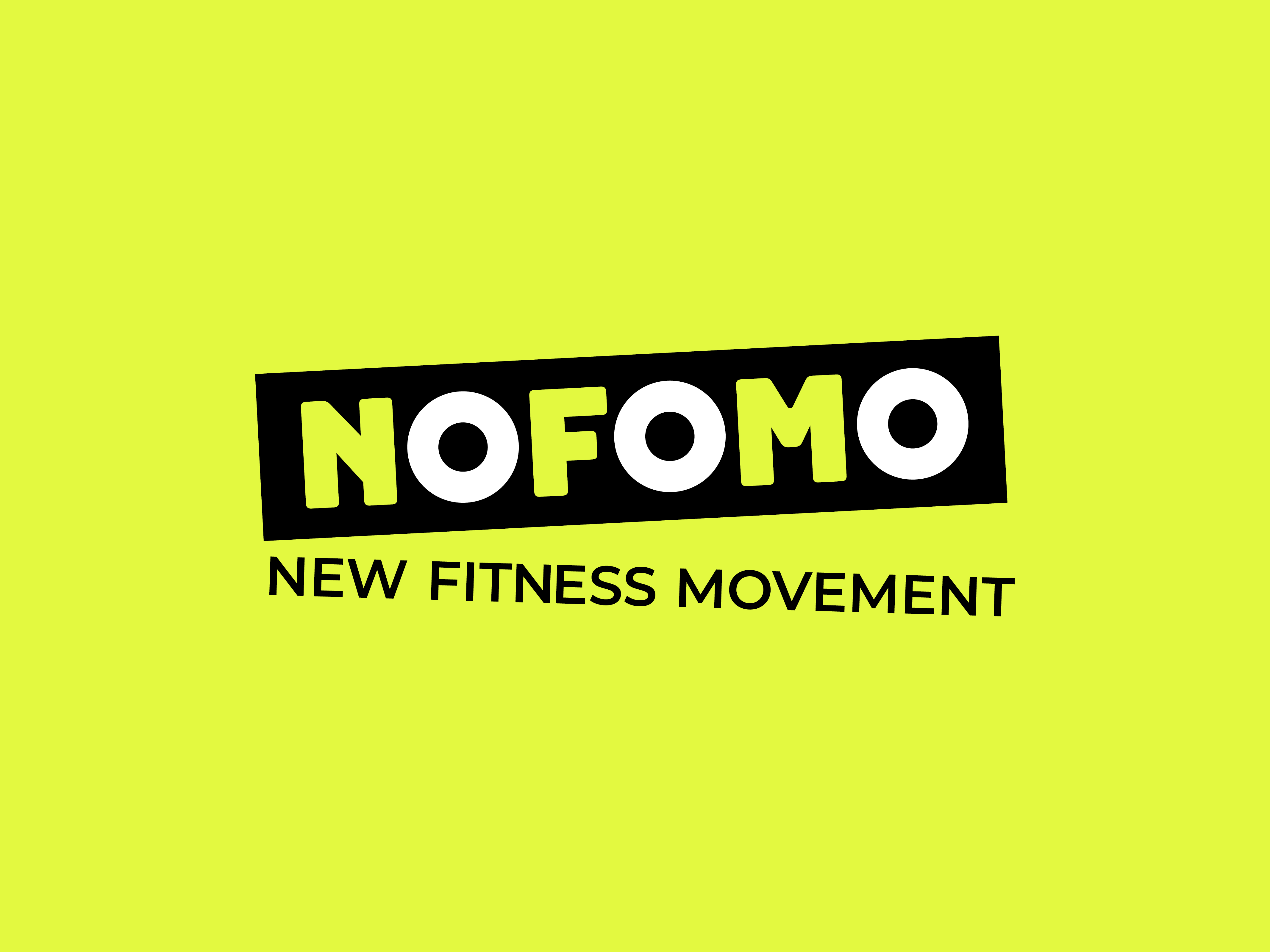 NOFOMO - New Fitness Movement logo