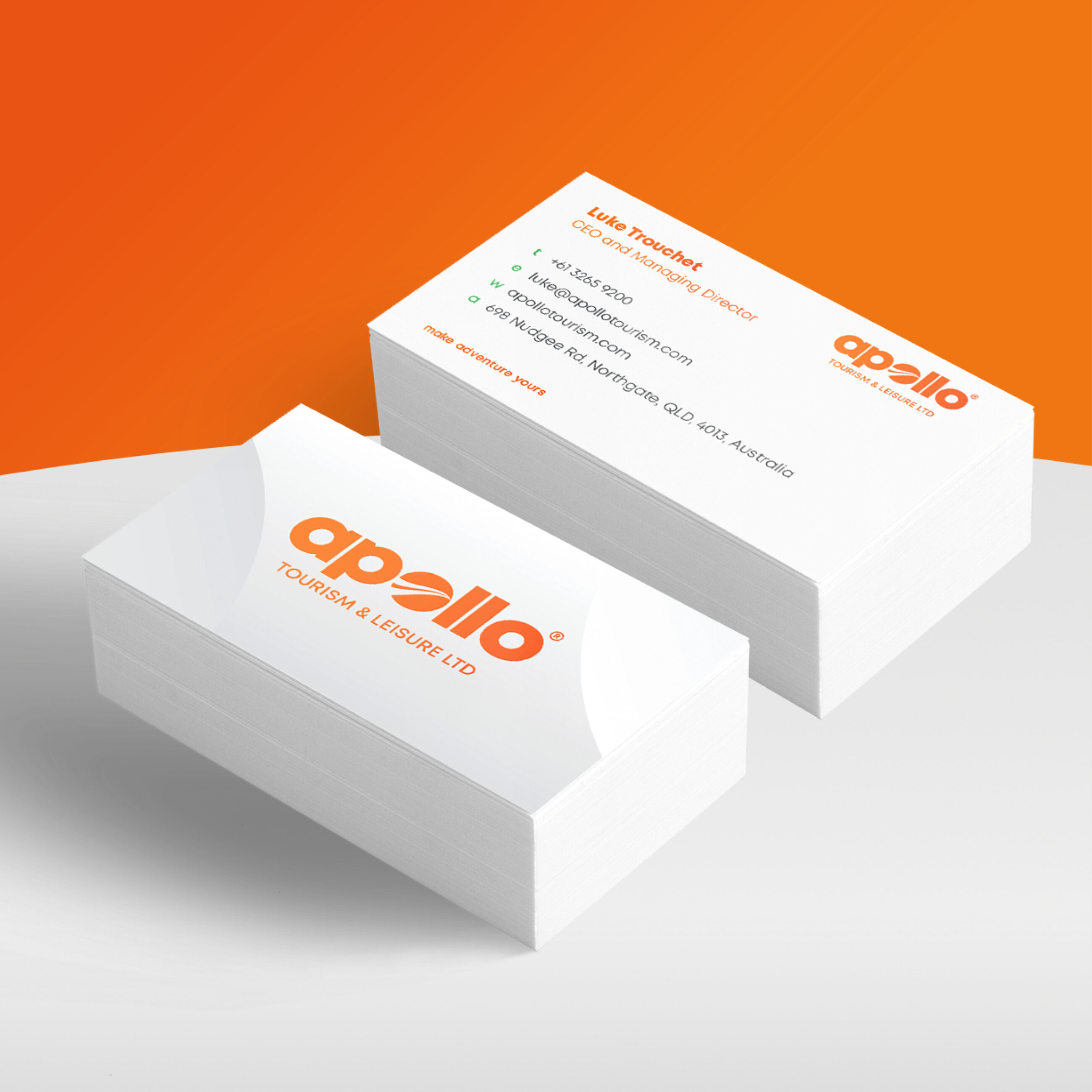 Apollo Business Cards Example