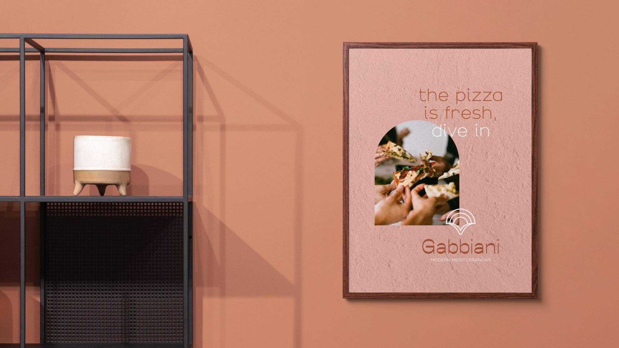 Brand identity mockup poster for cafe brand Brisbane