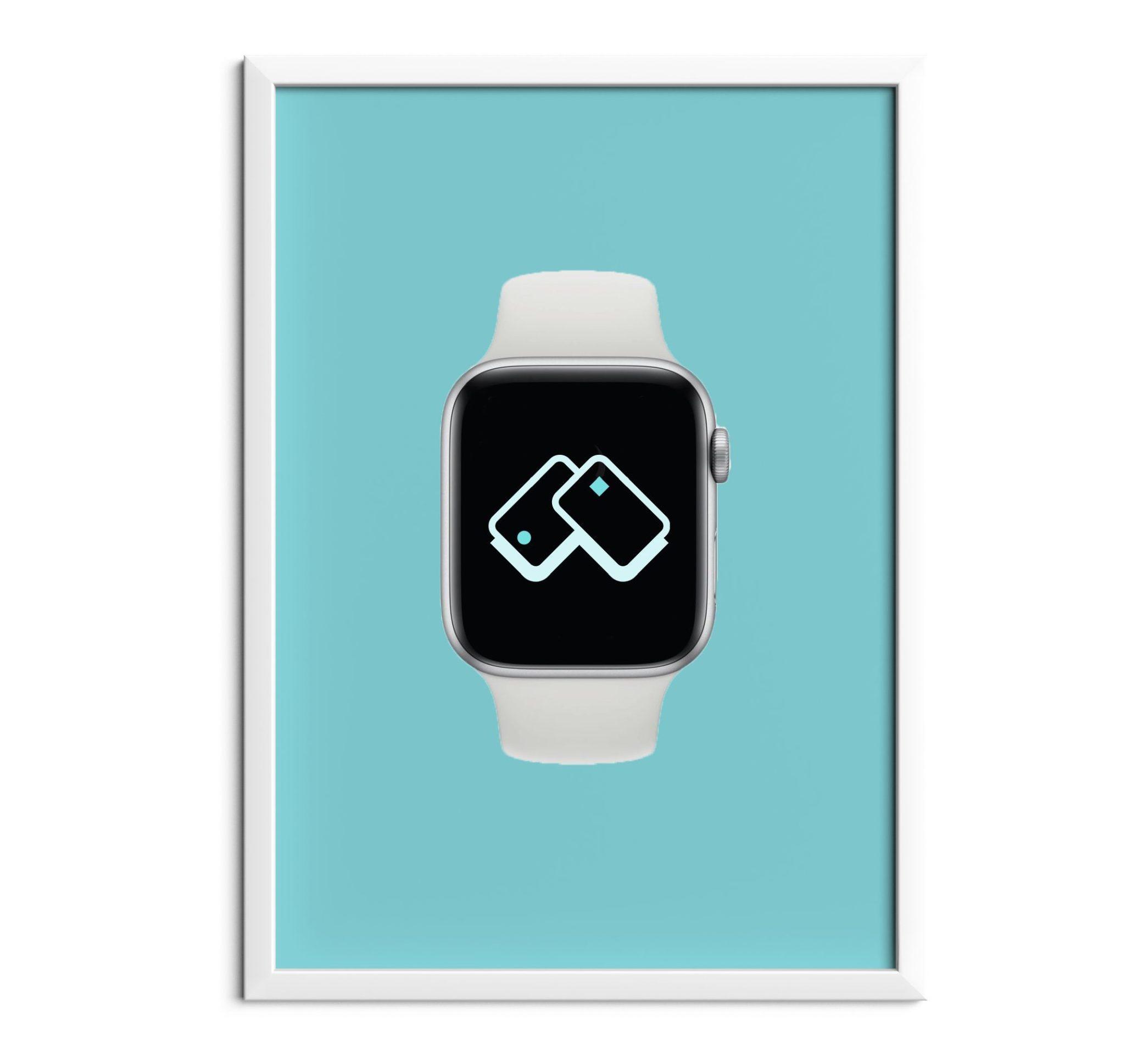 Mockup design of apple watch application