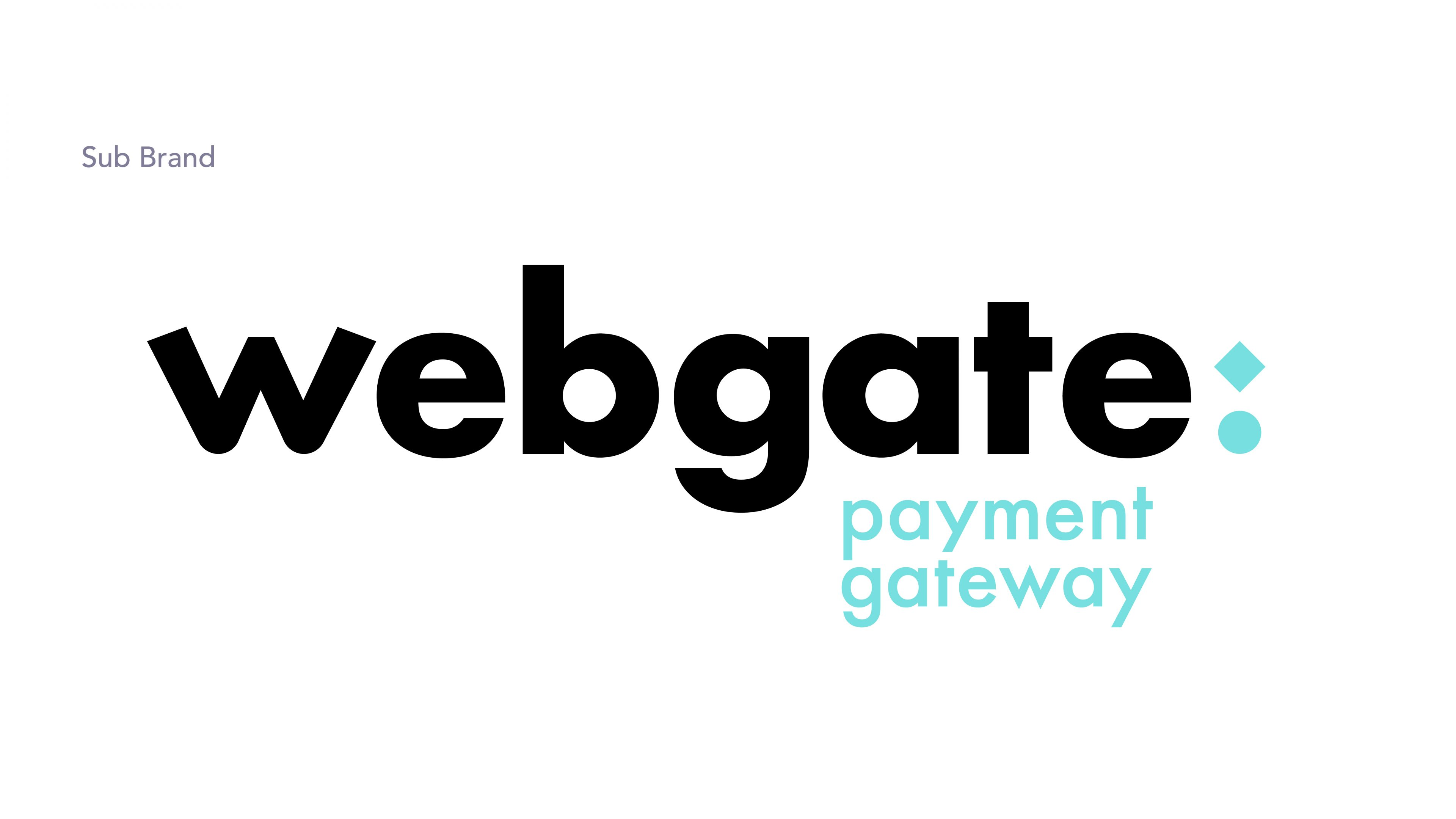 Webgate payment gateway brand logo