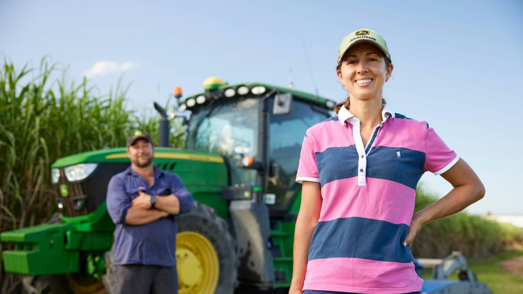 Local farming business - financial services brand Cosca
