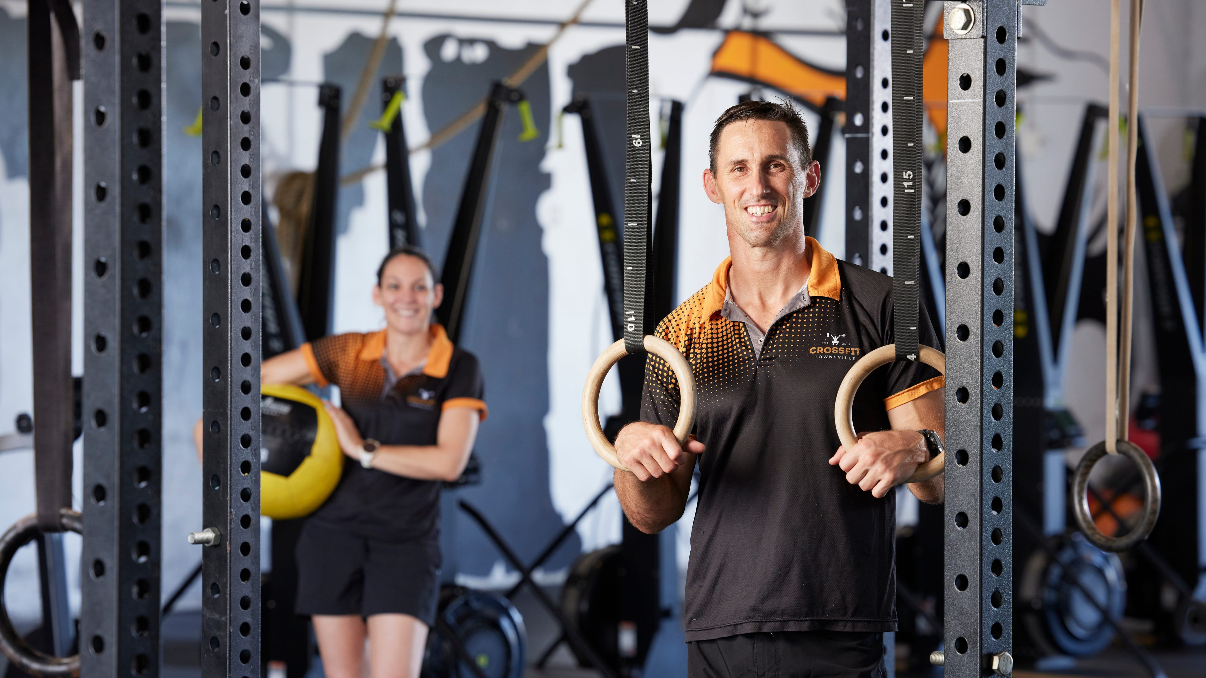Local fitness business owner - financial services brand Cosca