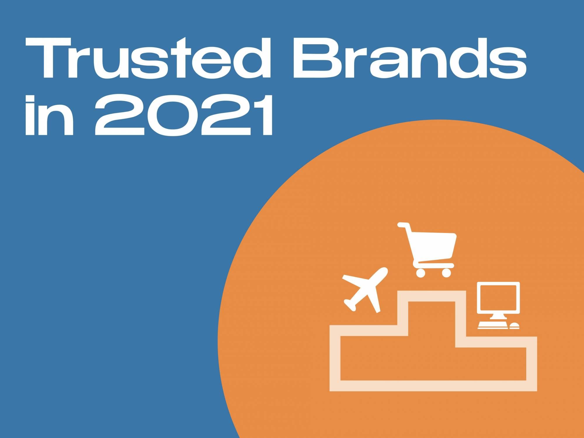 Trusted Brands in 2021 by DAIS branding agency Brisbane